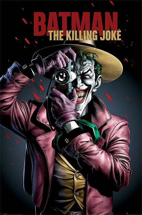 BATMAN - THE KILLING JOKE COVER - MAXI POSTER #141 - 61x91 cm