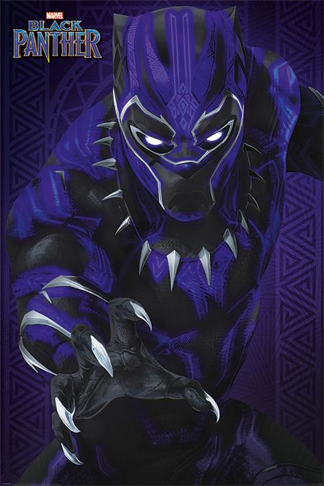 BLACK PANTHER -  GLOW - MAXI POSTER #106 - 61x91 cm