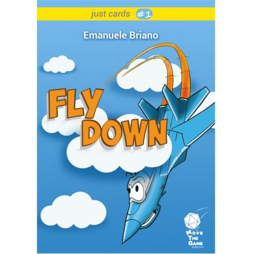 FLY DOWN - Gioco da Tavolo di Calcolo e Deduzione - Originale e Coinvolgente - 2-6 Giocatori Durata 15 min. Eta' 12+ - Un Gioco MoveTheGame CDM