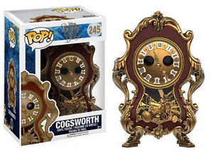Funko POP! Disney - Beauty and the Beast Live Action - #245 Cogsworth