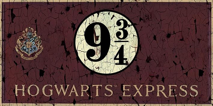 HARRY POTTER - HOGWARTS EXPRESS - ART - CANVAS PRINTS - STAMPA SU TELA