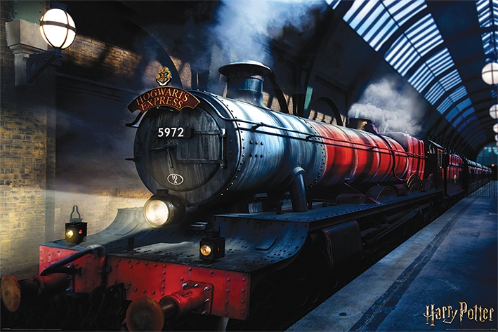 HARRY POTTER - HOGWARTS EXPRESS - MAXI POSTER #02 - 61x91 cm Orizzontale