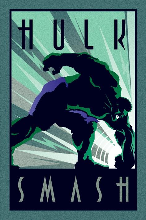 MARVEL DECO -  HULK - MAXI POSTER #142 - 61x91 cm