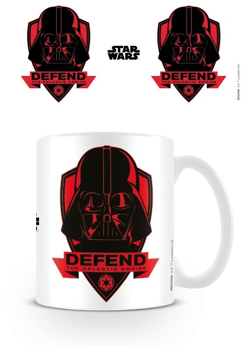 STAR WARS - DEFEND THE EMPIRE - COFFEE MUGS - TAZZA