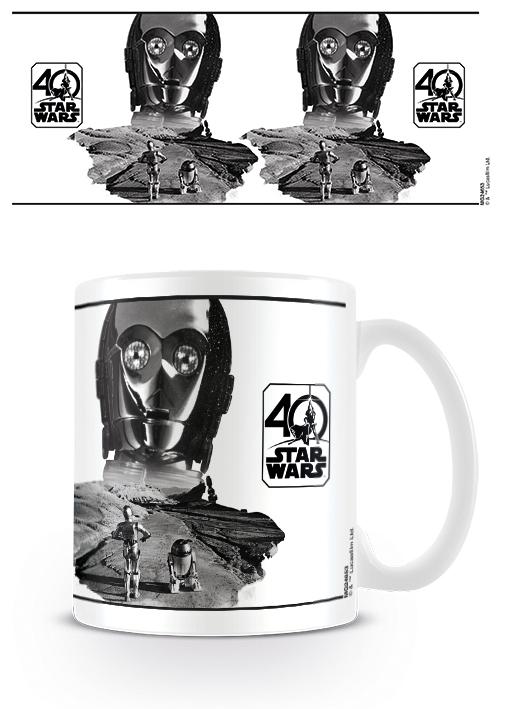 STAR WARS 40TH ANNIVERSARY - C-3PO - COFFEE MUGS - TAZZA