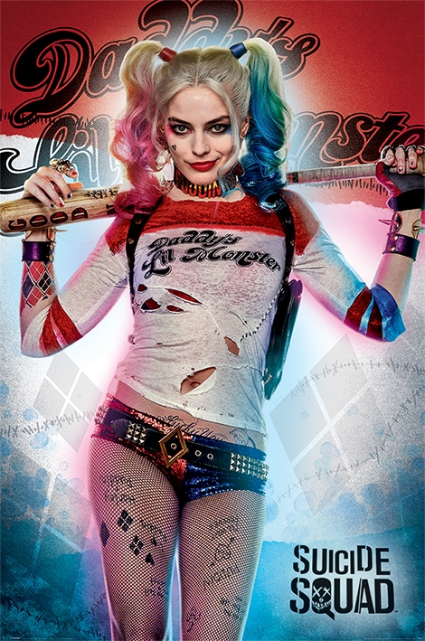 SUICIDE SQUAD - HARLEY QUINN DADDY'S LIL MONSTER - MAXI POSTER #30 - 61x91 cm