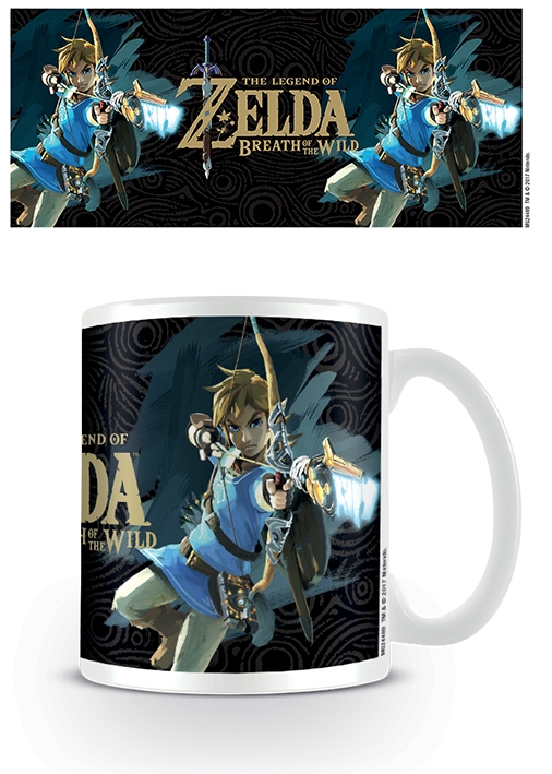 THE LEGEND OF ZELDA - BREATH OF THE WILD GAME COVER - COFFEE MUGS - TAZZA