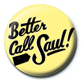 BREAKING BAD - BETTER CALL SAUL - 25MM BUTTON BADGES - SPILLETTA