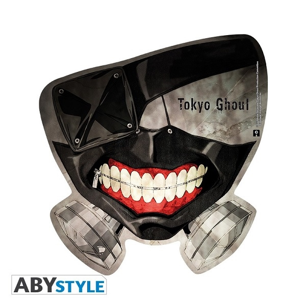 MOUSEPAD - TOKYO GHOUL - MASK - TAPPETINO PER MOUSE SAGOMATO 22 x 22 cm
