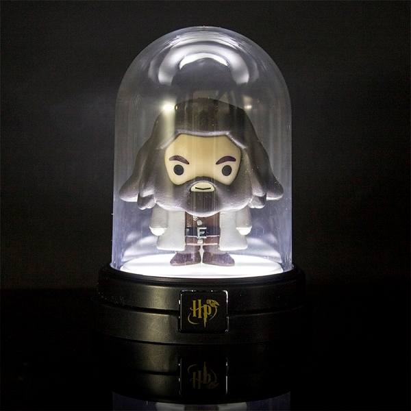 HARRY POTTER - HAGRID - Mini Lampada d'Ambiente a Cupola  10cm (a Batterie)