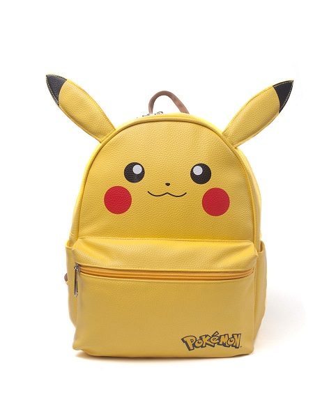 POKEMON - Zaino PIKACHU  - licenza ufficiale  - 42 x 31 cm Backpack