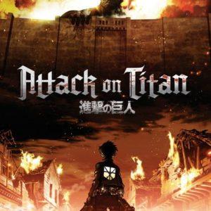 ATTACK ON TITANS - KEY ART - Maxi Poster #214 - 61x91 cm su carta da 150gr