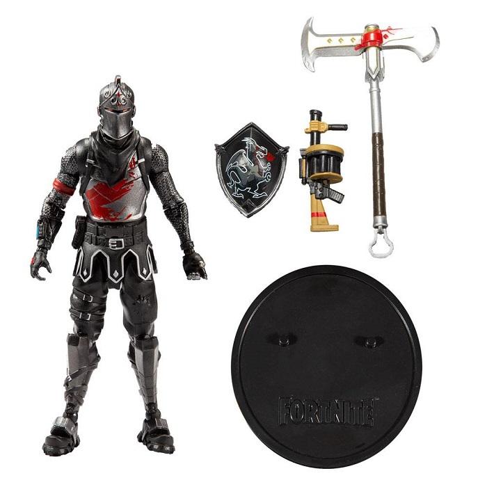FORTNITE - BLACK KNIGHT - Action Figure 18 cm Altamente Dettagliata Articolata con Accessori - McFarlane Toys