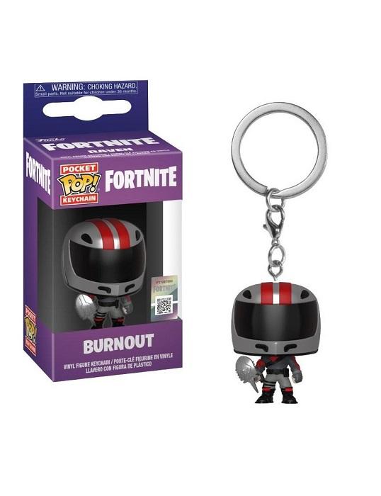 Funko Pocket POP! Keychain - FORTNITE - BURNOUT - Portachiavi 4 cm in Vinile