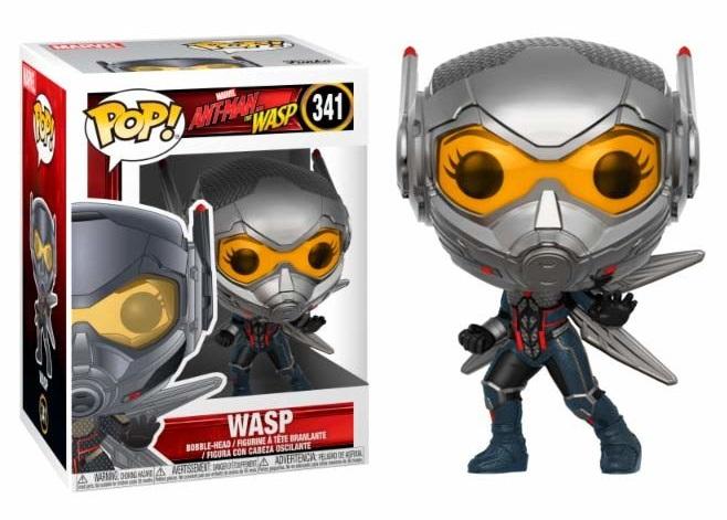 Funko Pop! Marvel - Ant-Man e Wasp #341  WASP -  Bobble-Head Figure in Vinile 9 cm