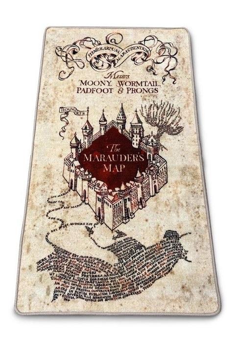 HARRY POTTER - Tappeto da Interno MAPPA DEL MALANDRINO - Morbido 133x76cm GROOVY