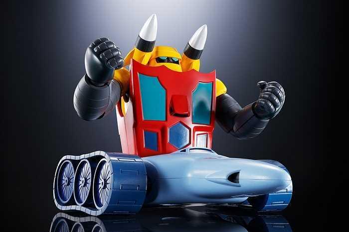 BANDAI SOC GX-91 - GETTER 2+3 DYNAMIC CLASSIC SET Robot - Tamashii Soul of Chogokin - Diecast Modello Articolato in Metallo e Plastica Action Figure