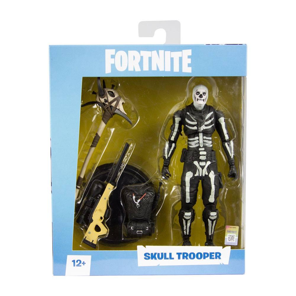FORTNITE - SKULL TROOPER - Action Figure 18 cm Dettagliata Articolata con Accessori - McFarlane Toys
