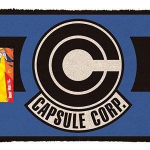 DRAGON BALL Z - CAPSULE CORP - Zerbino 60x40 cm in Fibra di Cocco (Doormat)