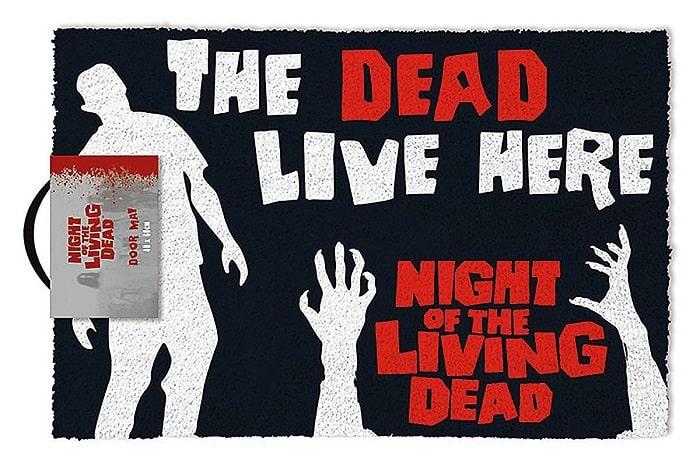 NOTTE DEI MORTI VIVENTI - Zerbino 60x40 cm in Fibra di Cocco (Night of the Living Dead)