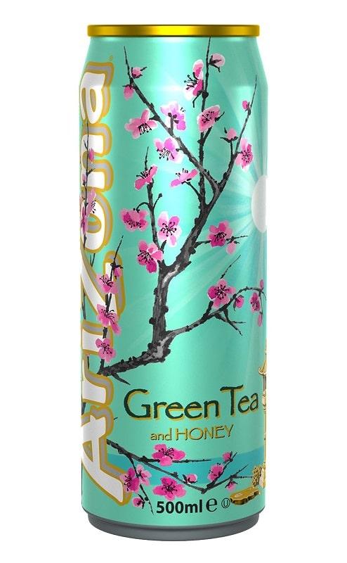 ARIZONA – Original GREEN TEA w/ HONEY - Te' Verde Bevanda Analcolica - Lattina 330ml