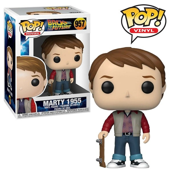 Funko POP! Movies - Back to the Future #957 MARTY McFLY 1955 - Figure in Vinile 9 cm