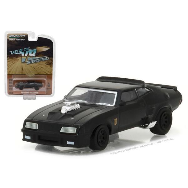 MAD MAX - 1973 FORD FALCON Modellino Auto in Metallo Diecast Scala 1:64 8 cm - In Box con Finestra - Greenlight