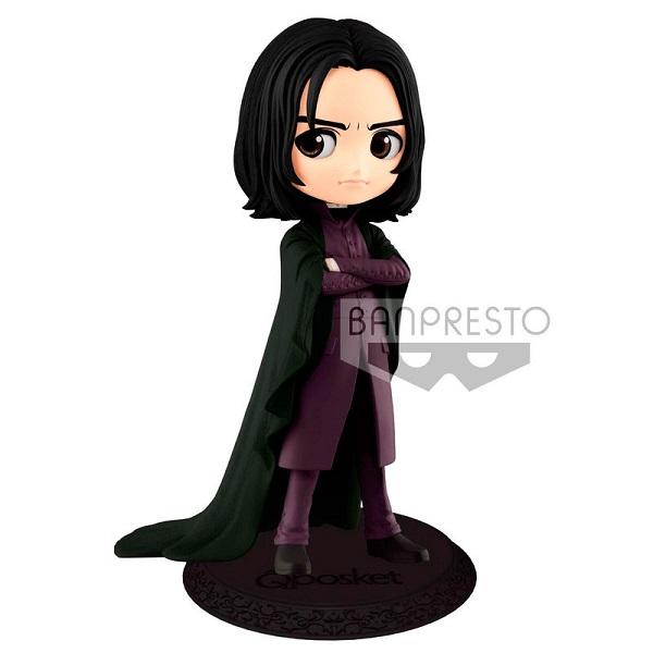 BANPRESTO - HARRY POTTER - SEVERUS PITON (Snape) - QPOSKET Figure in PVC Posa Fissa 14 cm
