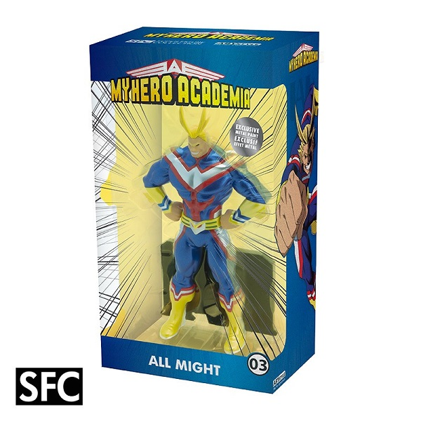 MY HERO ACADEMIA - ALL MIGHT METAL FOIL - Statua in PVC 22 cm Scala 1/10 - Abystyle