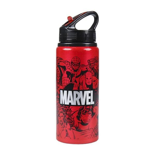 MARVEL COMICS - Borraccia Bottiglia in Alluminio con Beccuccio 700ml