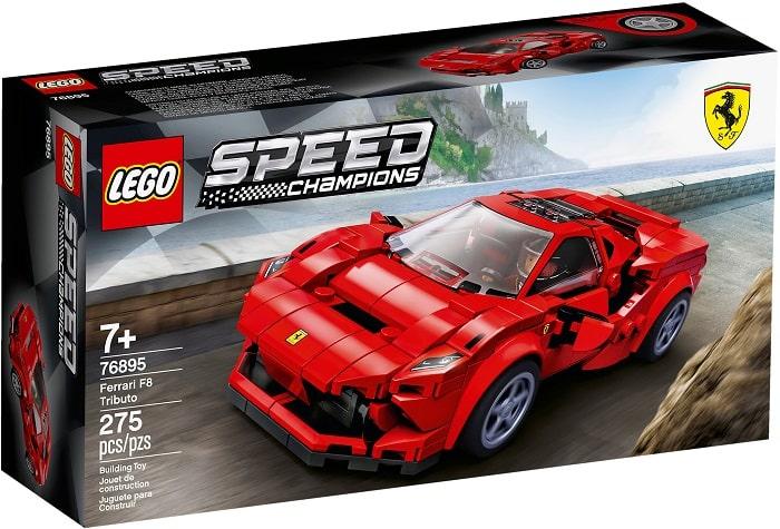 LEGO 76895 - Speed Champions - FERRARI F8 TRIBUTO Età 7+