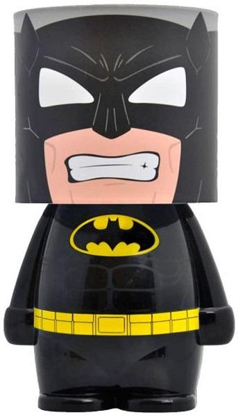 DC COMICS BATMAN - Lampada a Led da Atmosfera Ambiente a Batteria e USB 16 cm - Look Alite
