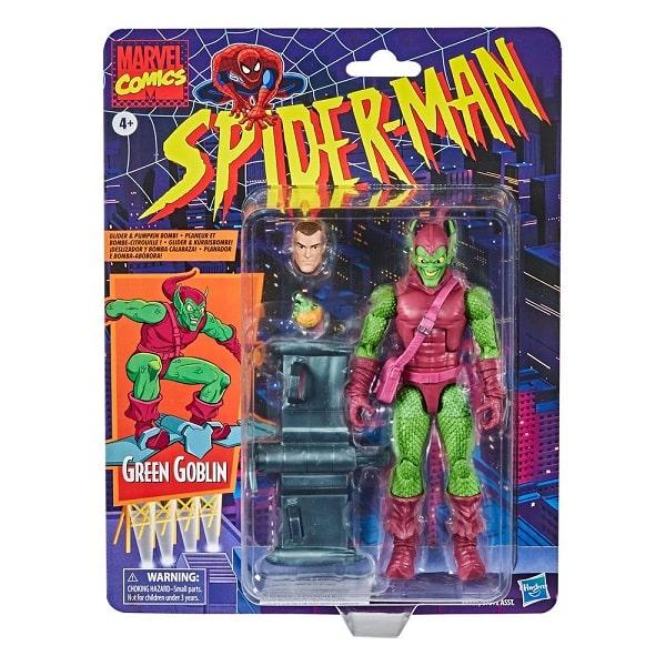 Marvel Retro Collection 2020 - GREEN GOBLIN (Spider-Man)  Action Figure 15cm  HASBRO
