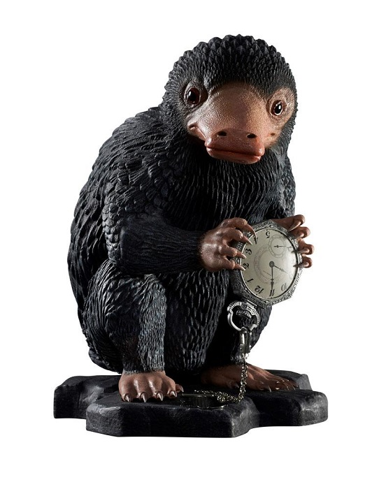 ANIMALI FANTASTICI - NIFFLER (Snaso) - Statua Life Size Grandezza Naturale 32 cm - Muckle Mannequin