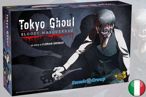 TOKYO GHOUL BLOODY MASQUERADE - Gioco da Tavolo Italiano 4-8  Giocatori Età 14+ Don't Panic Games