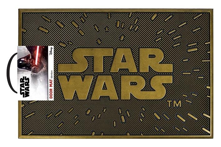 STAR WARS LOGO - Zerbino in Gomma 60x40 cm - Rubber Mat