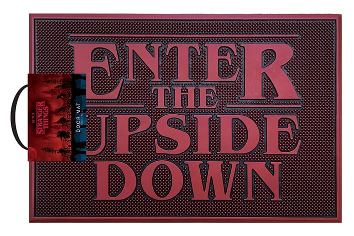 STRANGER THINGS - ENTER THE UPSIDE DOWN - Zerbino in Gomma 60x40 cm - Rubber Mat