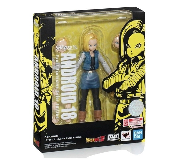 Dragon Ball Z ANDROID 18 - S.H. Figuarts Action Figure Tamashii 2020 Event Exclusive 13 cm