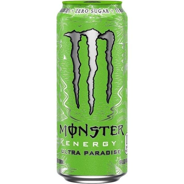 MONSTER ENERGY ULTRA PARADISE – Energy Drink Bevanda Analcolica Zero Calorie - Lattina 500ml