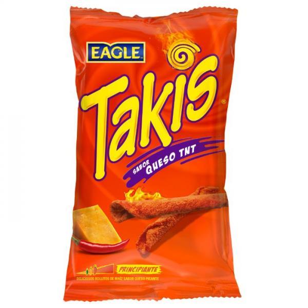 TAKIS QUESO TNT - Snack di Mais al Formaggio Piccante- Spicy Tortilla Chips 150g