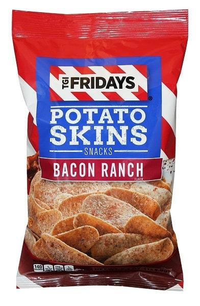 TGI Fridays POTATO SKINS BACON RANCH - Snack Patatine Aromatizzate