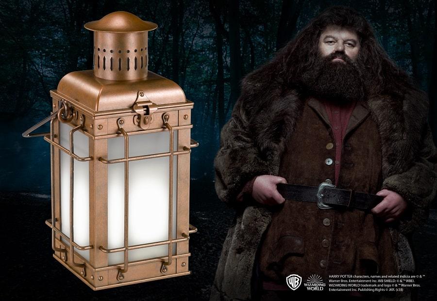 HARRY POTTER - Lampada Lanterna di HAGRID - Noble Collection Replica 33cm Scala 1/1