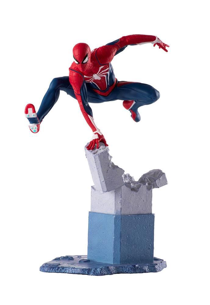MARVEL Gameverse - SPIDER-MAN - Statua Diorama in PVC 17cm Videogioco Scala 1/12  PCS Collectibles