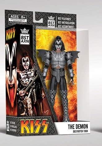 KISS - THE DEMON DESTROYER TOUR - Action Figure 13 cm  BST AXN Articolata con Accessori