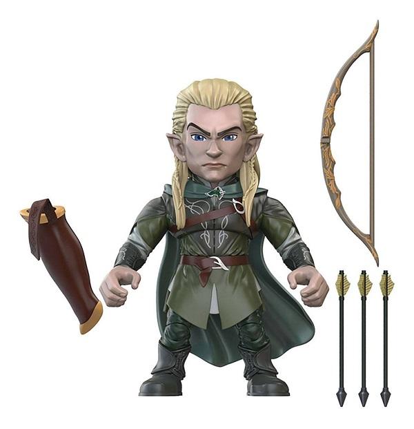 Signore degli Anelli - LEGOLAS - Mini Action Figure 8cm Articolata con Accessori