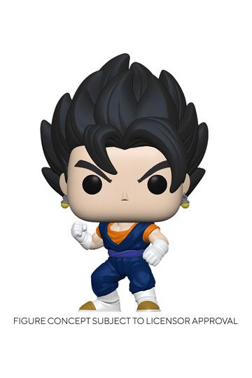 Funko POP! Animation - Dragon Ball Z - VEGITO con PROTECTOR BOX - Figure in Vinile 9cm