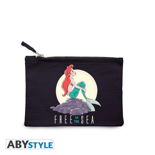 DISNEY - Astuccio Cosmetici - La Sirenetta - Free as the sea - Blue
