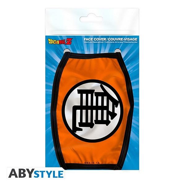 DRAGON BALL Z - SIMBOLO KAME - Mascherina Protettiva per Viso Lavabile Taglia Unica - Abystyle