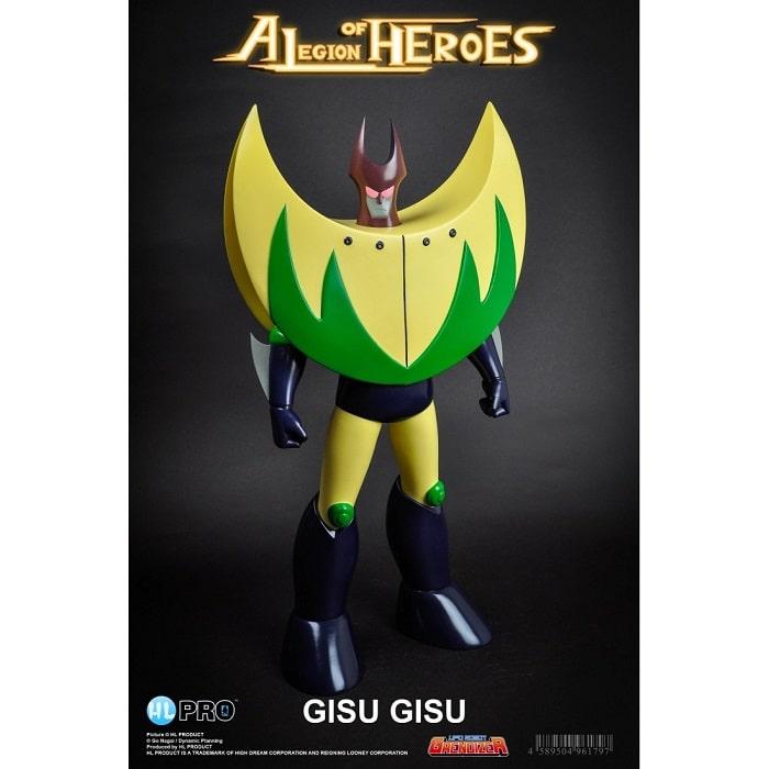 HL PRO Marmit - Ufo Robot Goldrake GISU GISU Legion of Heroes - Action Figure 40cm High Dreams