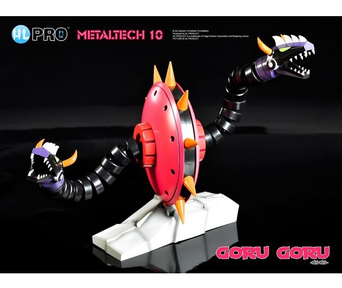 HL PRO Metaltech 10 - Ufo Robot Goldrake GORU GORU Die-Cast Action Figure 16cm in Metallo High Dreams